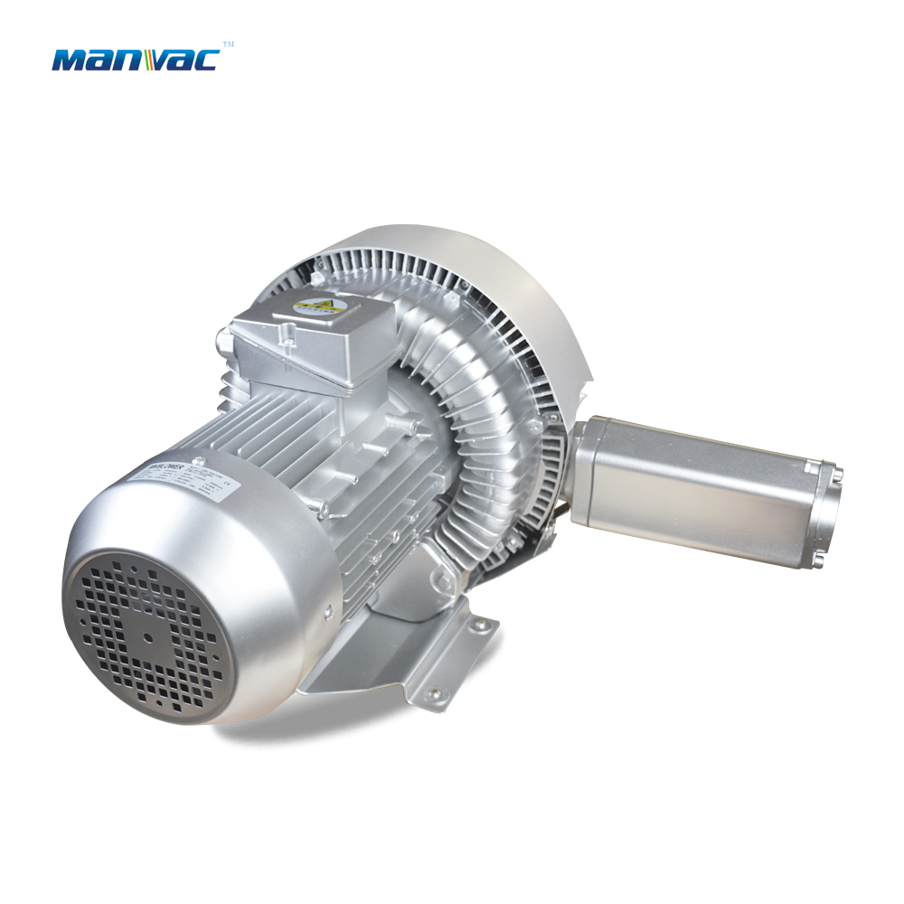 Double stage side channel blower LD 075 H43 R27