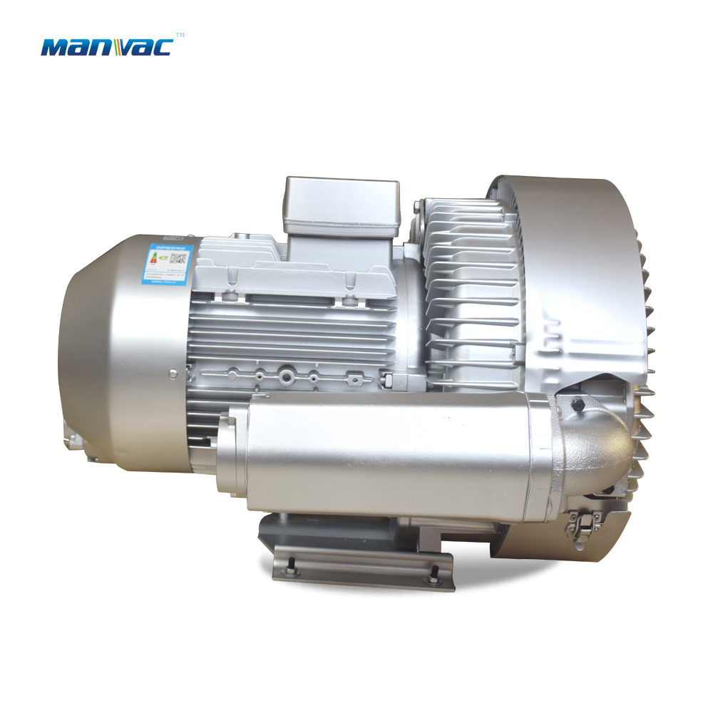 Double stage side channel blower LD 110 H43 R28