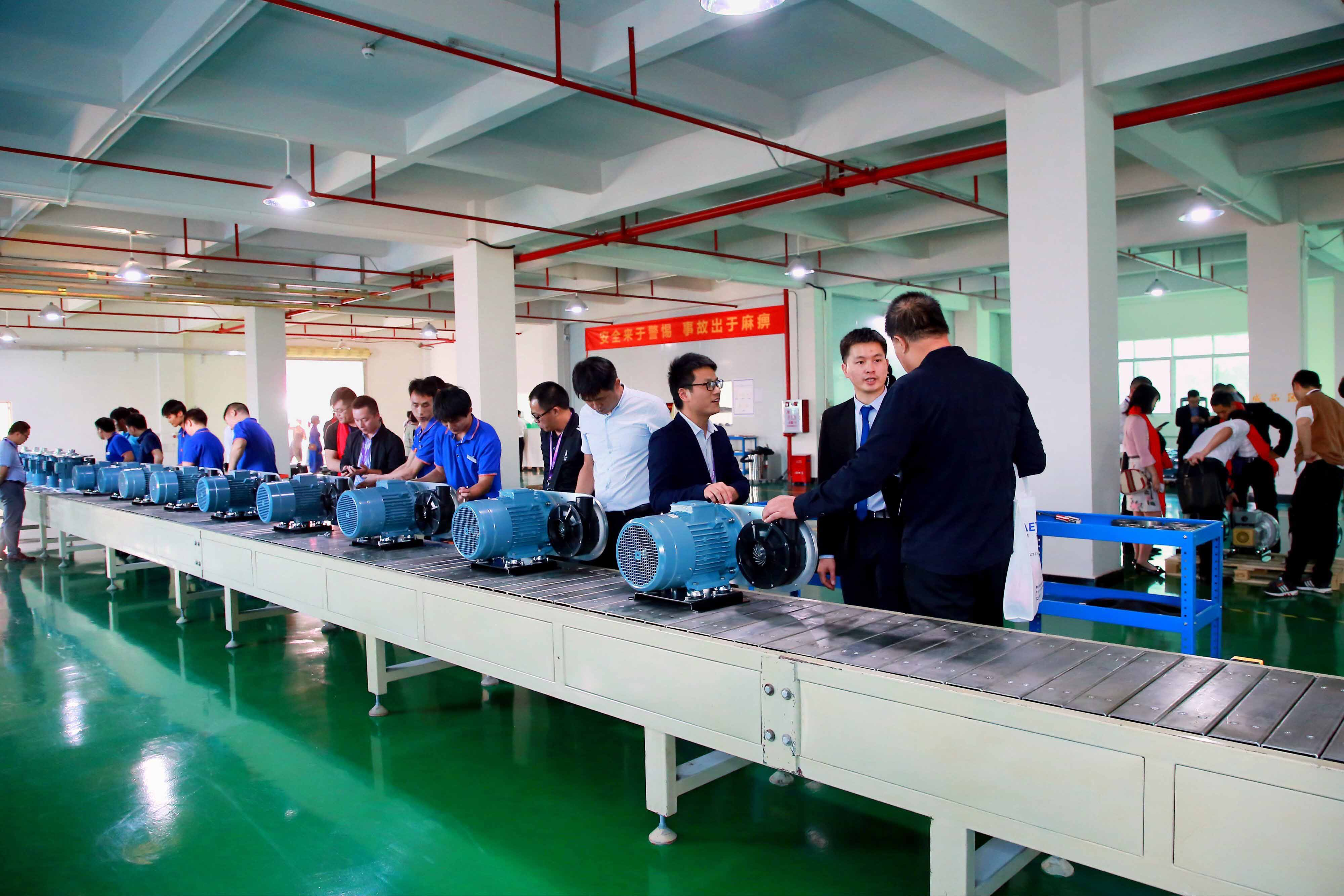 Customer Visit—High Speed Centrifugal Blowers